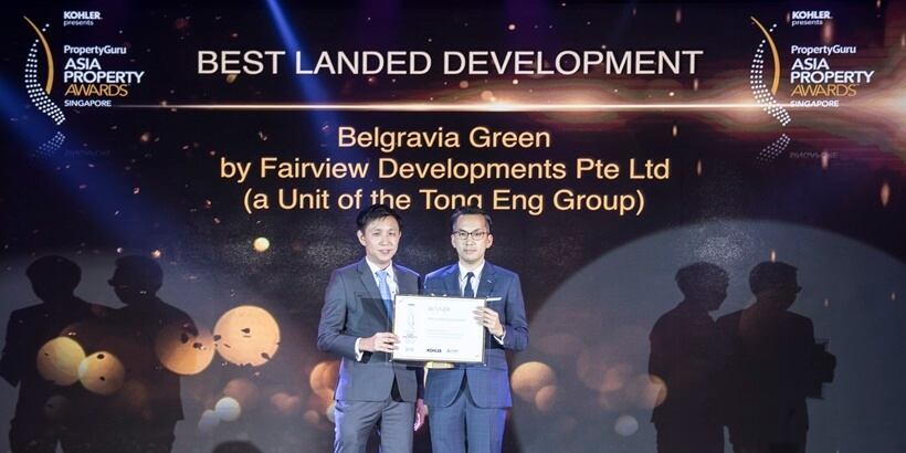 Belgravia Green Wins Best Landed Development Award For 3-Storey Seletar Residences