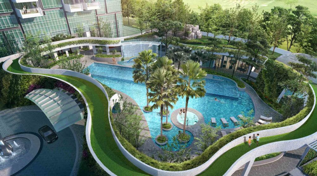 8 St Thomas by Bukit Sembawang swimming pool