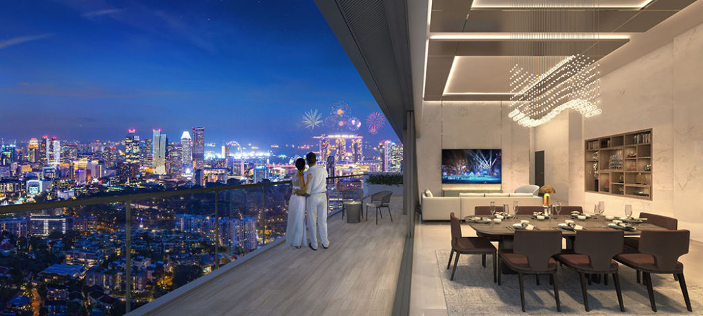 8 saint thomas near Orchard road with MBS View