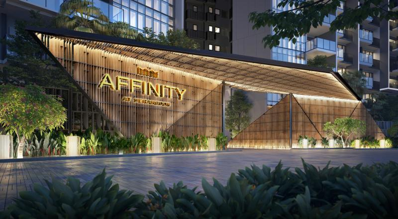 Affinity at Serangoon by oxley drop off point