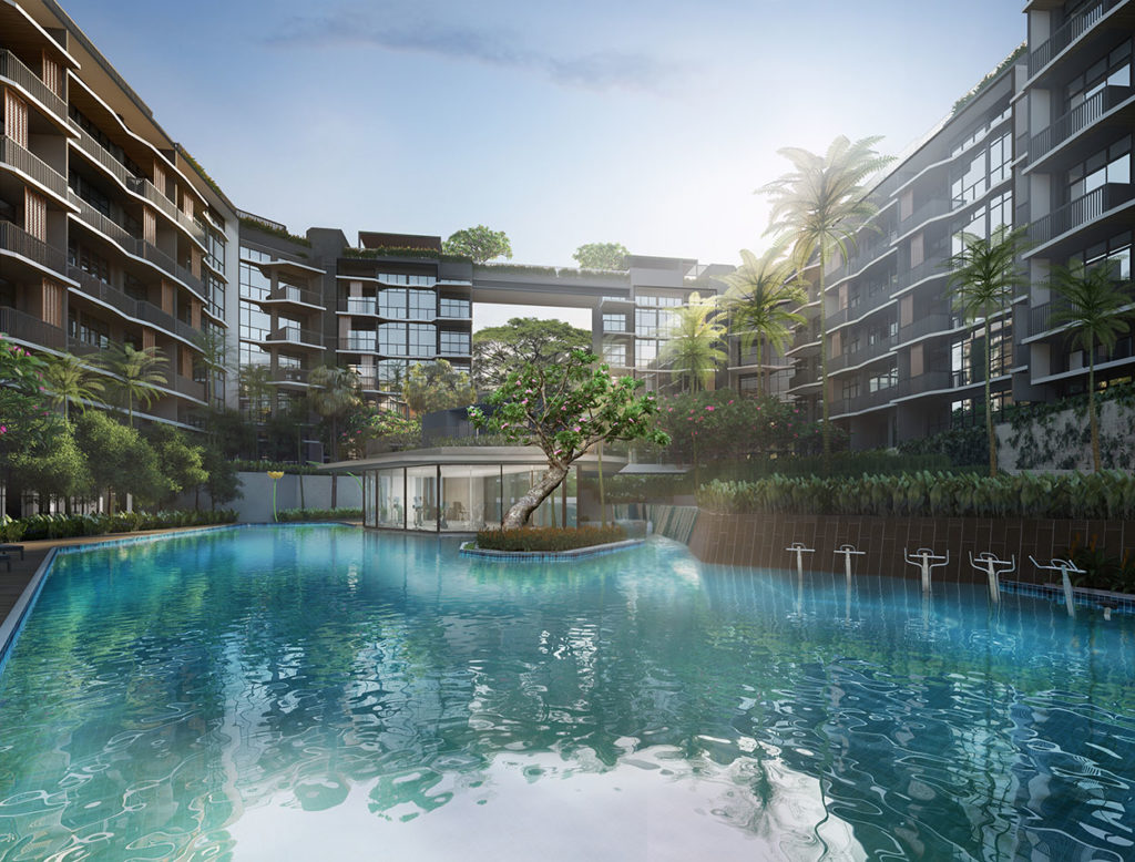 Daintree Residence 50m Leisure Pool near Beauty World Plaza