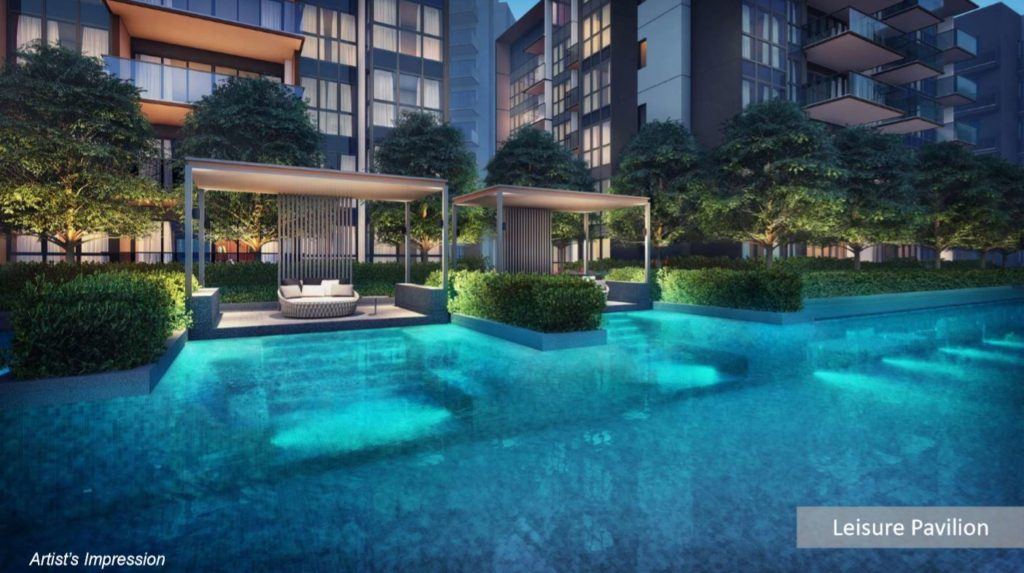 Fourth Avenue Residences condo Leisure Pavillion Perspective