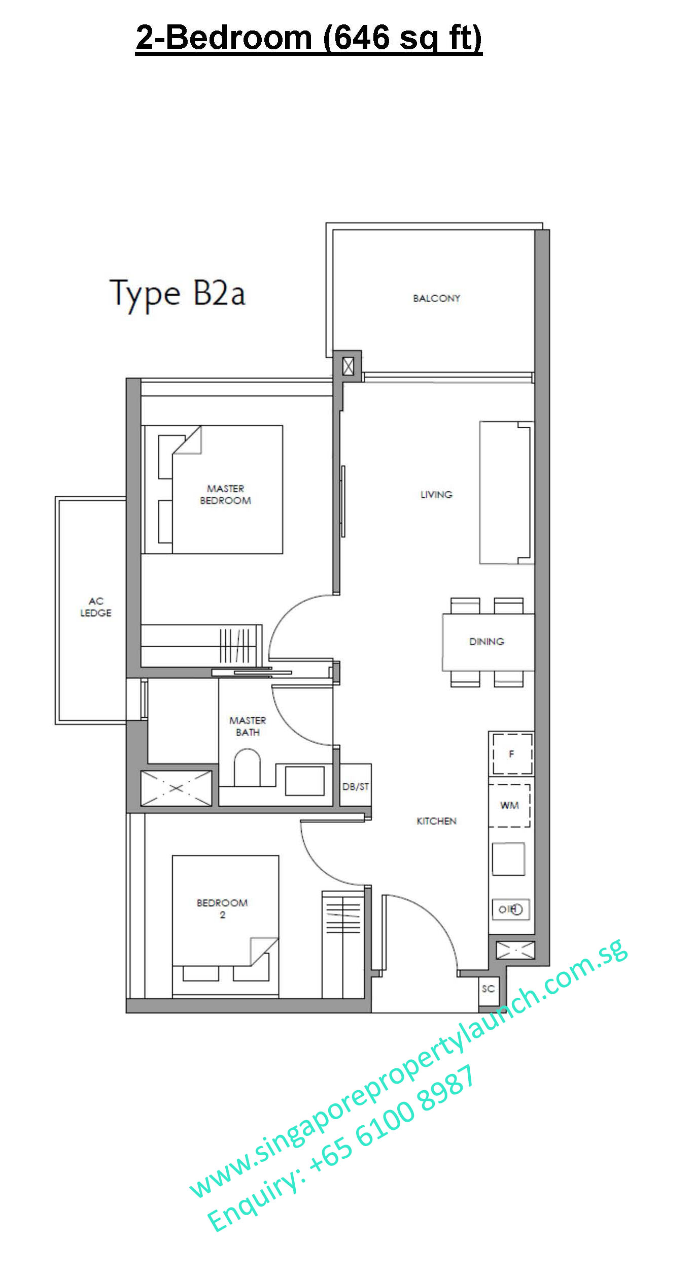 Fourth Avenue Residences floor plan 2