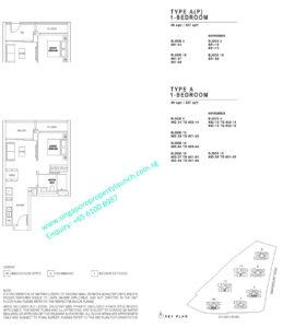 JadeScape 1 bedroom Type A