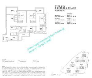 JadeScape 3 bedroom deluxe Type C2b