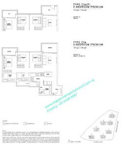 JadeScape 3 bedroom premium Type C3a