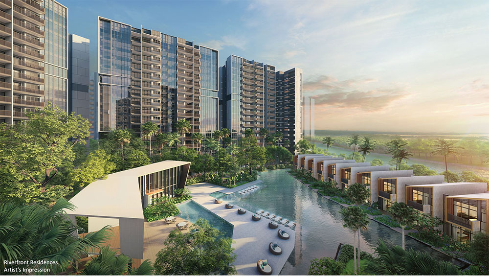 Riverfront Residences Hougang central sungei serangoon