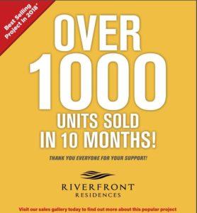 riverfront-residences-1000-units-sold-singapore