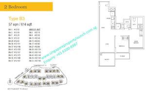 treasure-at-tampines-2-bedroom-floor-plan-B3-singapore