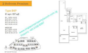 treasure-at-tampines-2-bedroom-premium-floor-plan-B4-singapore