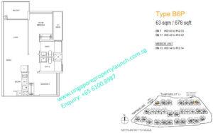 treasure-at-tampines-2-bedroom-premium-floor-plan-B6-singapore