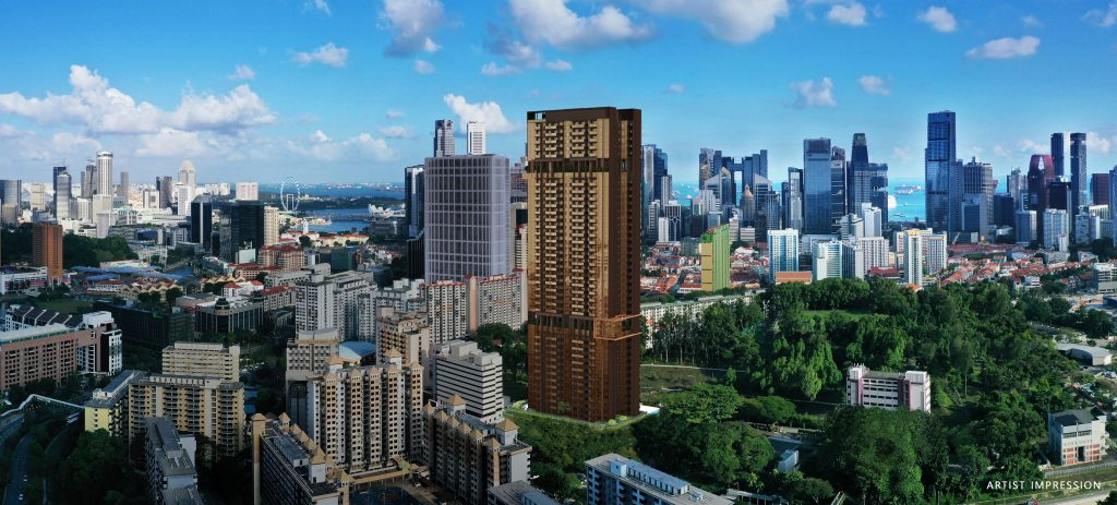 The-Landmark-condo-outram-mrt-by-mcc-land-panoramic-view