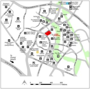 one-north-gateway-condo-location-map-singapore