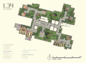One-Bernam_site-plan_Level_34_by_MCC_Land_Singapore