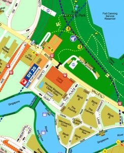 Canninghill-Square-Location-at-River-Valley-Road-Singapore-by-CDL-and-Capitaland
